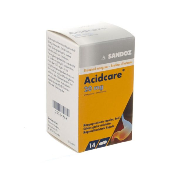 PhamilyPharma Webshop AcidCare 20 mg 14 tabletten