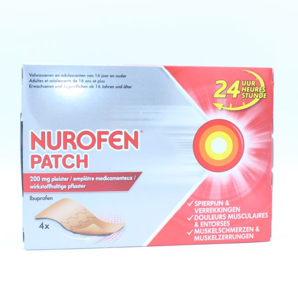 PhamilyPharma Webshop Nurofen Patch 200 mg - 4 patches