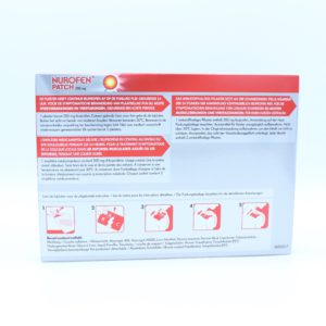 PhamilyPharma Webshop Nurofen Patch 200 mg - 4 patches (Achterkant)