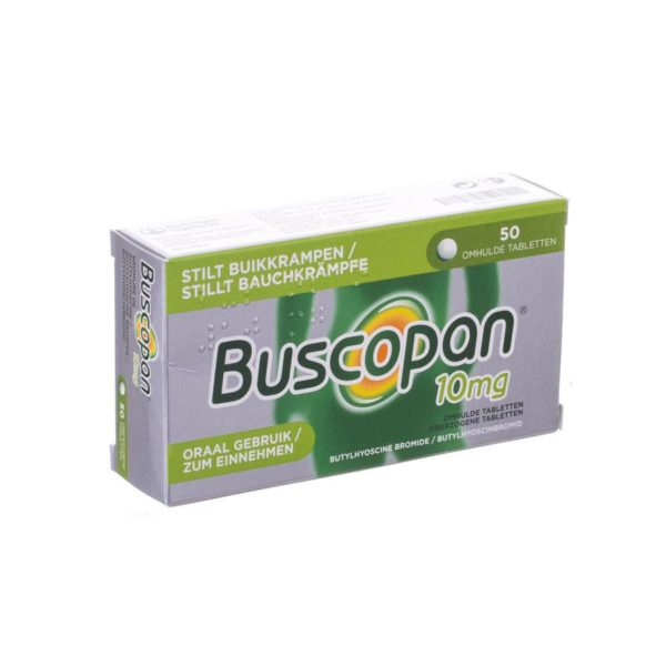PhamilyPharma Webshop Buscopan 10 mg 50 tabletten
