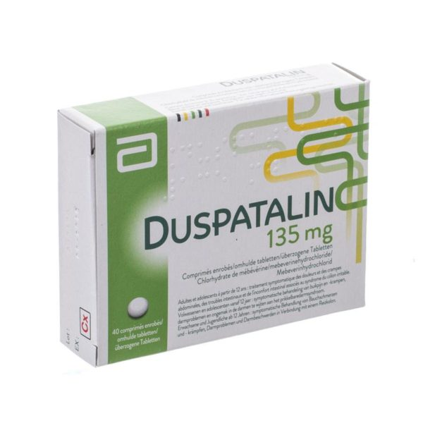 PhamilyPharma Webshop Duspatalin 135 mg 40 tabletten